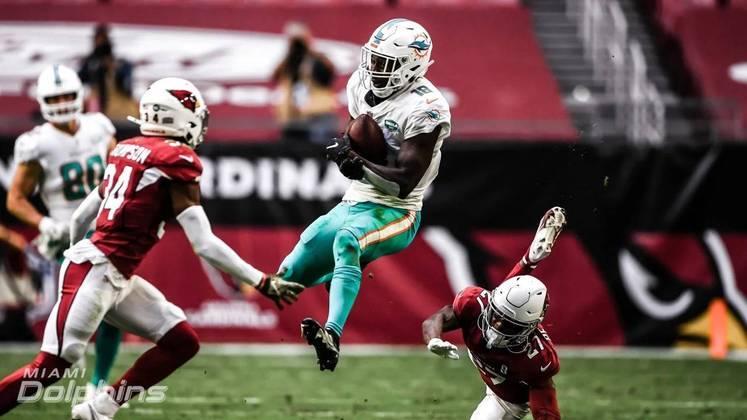 12º Miami Dolphins - Os playoffs já são realidade. O trabalho de Brian Flores é de altíssimo nível.