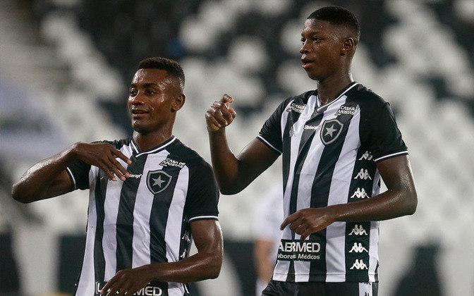 12 – O Botafogo soma 2.488.927 seguidores, somando todos os atletas do clube.