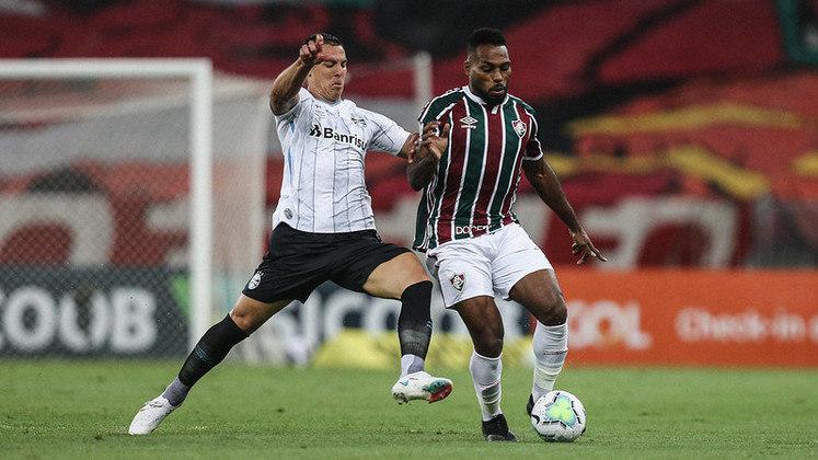 12ª rodada - Fluminense x Grêmio - O Flu perdeu as duas partidas para o time gaúcho na temporada passada.