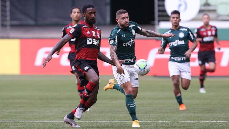 12ª rodada)  Palmeiras 1x1 Flamengo, no Allianz Parque, em 27 de setembro de 2020