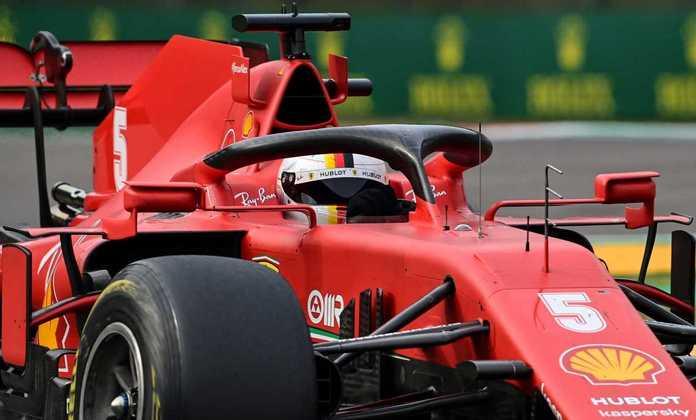 12º - Sebastian Vettel (Ferrari): 5.48 - Ferrari eliminou qualquer chance de pontos em uma corrida bem mediana