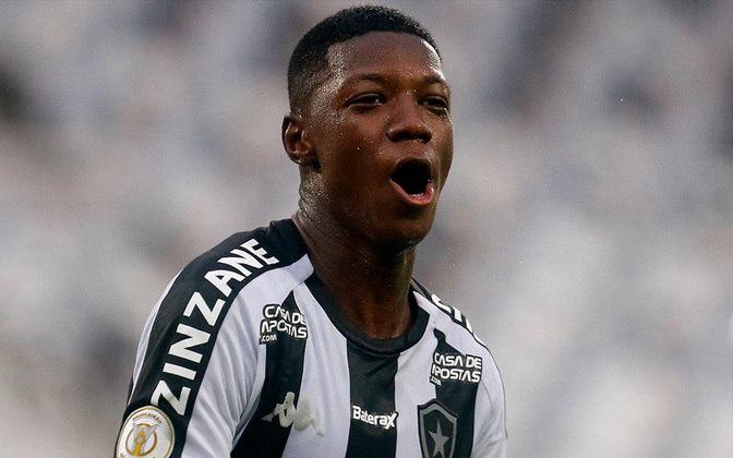 12º - Também com três pontos, Matheus Babi (23 anos), do Botafogo. São 17 jogos, 14 como titular, com cinco gols marcados e uma assistência.