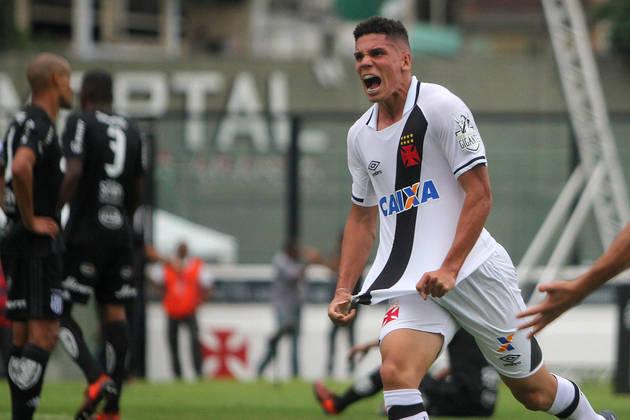 12º - VASCO - O clube carioca lucrou 254,4 milhões de reais com as vendas nesta década, de jogadores como do atacante Paulinho (foto), para o Bayer Leverkusen