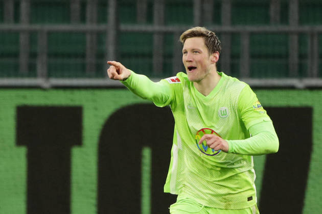 12º: Wout Weghorst (Wolfsburg) - 17 gols / 34 pontos