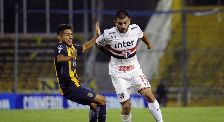 12/04/2018 - Rosário Central 0 x 0 São Paulo (Copa Sul-Americana) - Empate sem gols na Argentina pela competição continental.