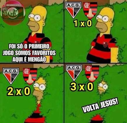 12/08/2020 - Refletindo o péssimo início de Campeonato Brasileiro, o Flamengo foi derrotado pelo Atlético-GO por 3 a 0 e continuou sem nenhum ponto na competição e nenhum gol marcado após duas rodadas.