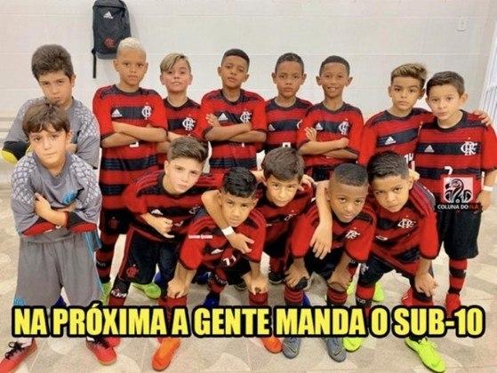 12/09/2021 - Palmeiras 1 x 3 Flamengo - 20ª rodada do Brasileirão