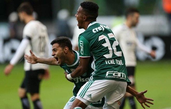 12/6/2016 - Palmeiras 1 x 0 Corinthians - 7ª Rodada Brasileirão-2016: Com gol de Cleiton Xavier, Verdão garantiu sua vitória no Allianz contra o rival, que reclamou da arbitragem por lance polêmico no fim.