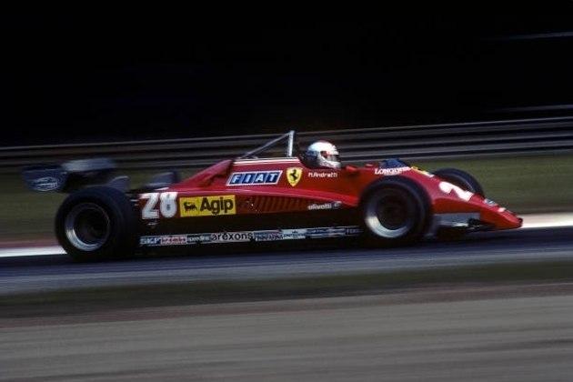 126C2: o carro de 1982 ficou marcado pela trágica morte de Giller Villeneuve no GP da Bélgica