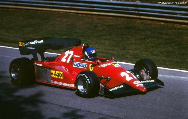 126C3: o feio carro da temporada 1983 - o que era essa asa traseira?