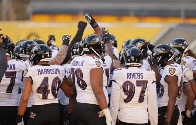 13º Baltimore Ravens: Lesões, Covid-19 e execução defensiva ruim prejudicam um ano que Baltimore sonhava com Super Bowl.