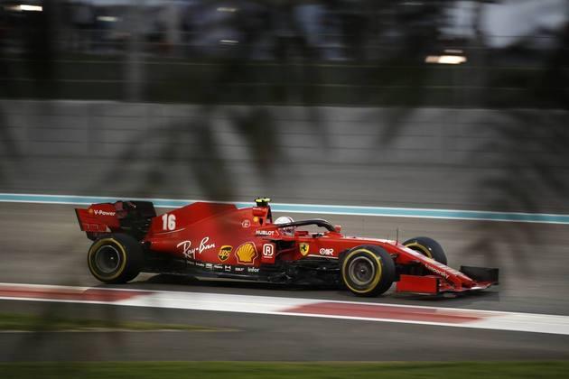 13 - Charles Leclerc (Ferrari) - 2.12 - Muito abaixo do esperado.