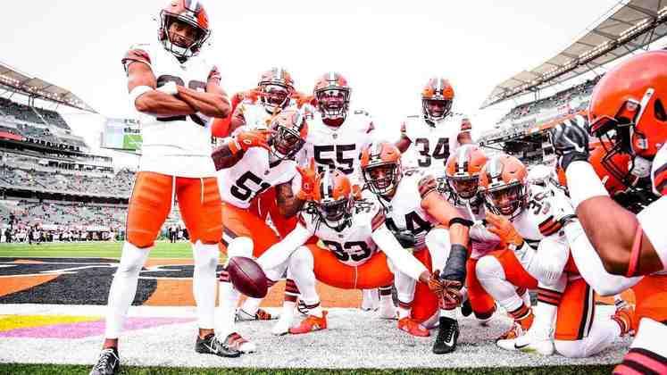 13 - Cleveland Browns: A secundária é um problema a ser resolvido e o ataque perdeu OBJ para o restante de 2020. Ainda assim, playoffs são uma possibilidade real.