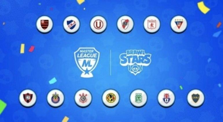 13 clubes foram convidados para participar da Master League — Foto: Divulgação/Supercell