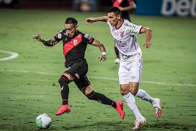 13º colocado – Atlético-GO (45 pontos/34 jogos): 0.0% de chances de ser campeão; 2.8% de chances de Libertadores (G6); 0.0% de chances de rebaixamento.