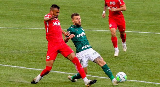 13º colocado – Bragantino (31 pontos/27 jogos): 0,0% de chances de ser campeão; 0,19% de chances de Libertadores (G6); 15,2% de chance de rebaixamento.