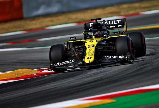 13) Daniel Ricciardo (Renault), 1min17s198
