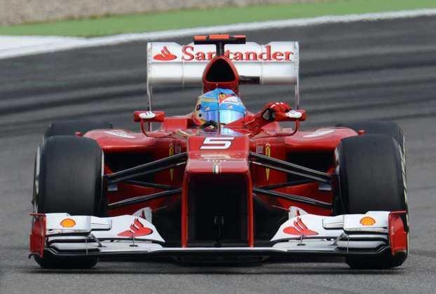 13 - Fernando Alonso, 22 poles, a última delas com a Ferrari F2012 no GP da Alemanha de 2012
