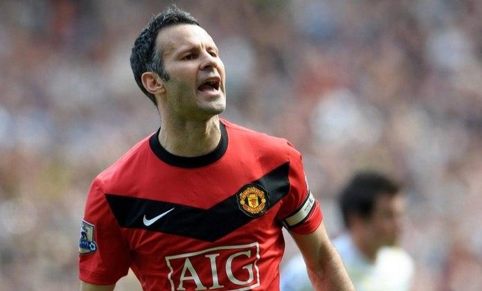 13 – Giggs: hoje treinador, atuou a vida inteira no Manchester United, clube no qual é ídolo e conquistou inúmeros títulos, como duas Champions