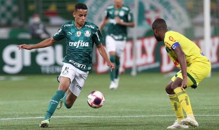 13º - Giovani – 17 anos – atacante – Palmeiras / valor de mercado: 5 milhões de euros