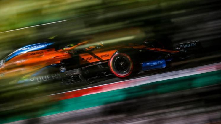 13º) Lando Norris (McLaren) - 4.54 - Foi tocado por Lance Stroll, precisou ir aos boxes e não se recuperou depois do incidente