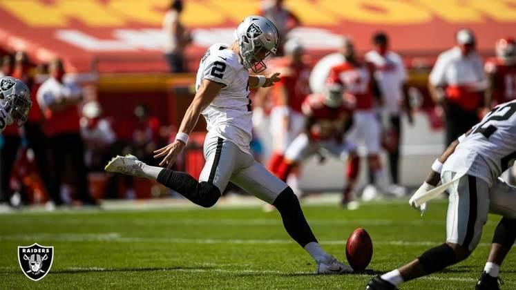 13° Las Vegas Raiders: Umaa vitória sobre os Chiefs para abrir os olhos de toda a NFL. Será que Derek Carr e Jon Gruden podem guiar os Raiders aos playoffs?