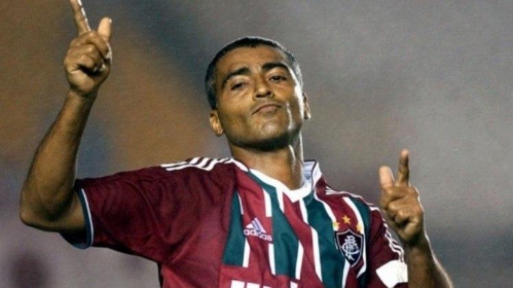 13° lugar: Romário - 38 gols