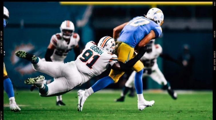 13° Miami Dolphins - Tua 100%, a defesa produzindo em grande nível e uma das melhores comissões técnicas da liga. Dias ensolarados em Miami.