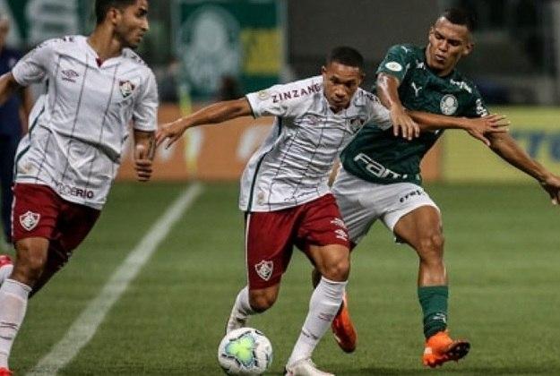 13ª rodada - Palmeiras x Fluminense - O Tricolor, que ainda não venceu no Allianz Parque, foi derrotado fora de casa e empatou em casa na última temporada.