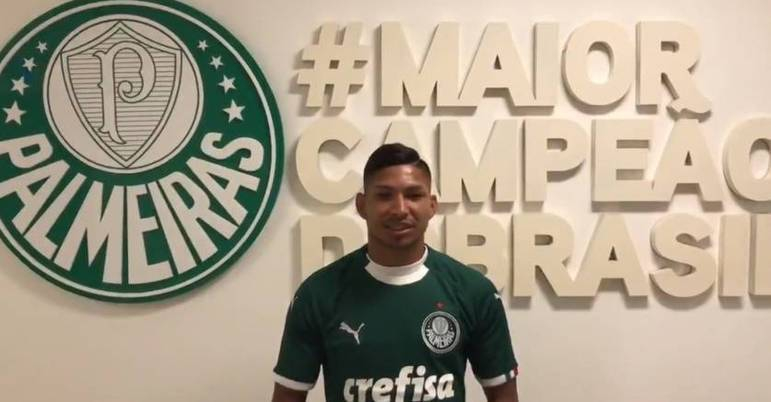 13º - Rony (Athletico Paranaense - Palmeiras) - 2020 - R$ 28,4 milhões