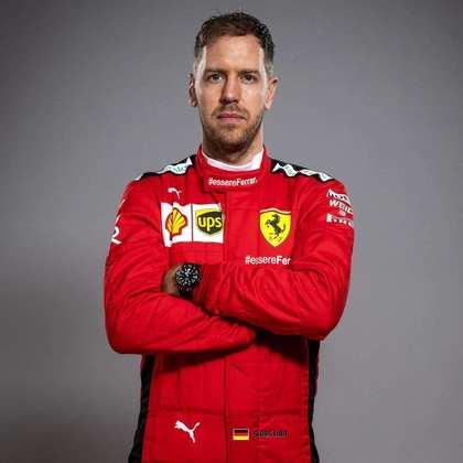 13º - Sebastian Vettel (Ferrari) - 18 pontos - Melhor resultado: 6º no GP da Hungria