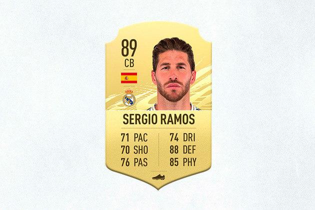13- Sergio Ramos (Real Madrid) - 89 de Overall - Vice-artilheiro do Real Madrid na temporada passada, Sergio Ramos é um dos zagueiros mais difíceis de ser batido no jogo. Chama a atenção a nota 92 em batidas de pênaltis