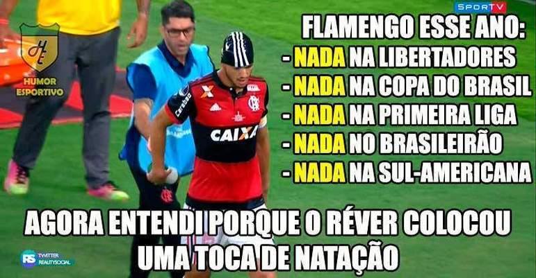 13/12/2017 - Com mais de 60 mil torcedores no Maracanã, o Flamengo empatou em 1 a 1 com o Independiente e ficou com o vice da Sul-Americana. O time argentino havia vencido a primeira partida por 2 a 1.
