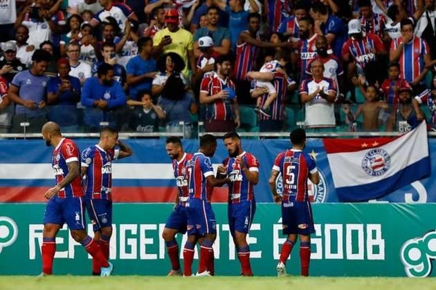 14- Bahia: O Bahia é o 14º da lista, com despesas no futebol avaliadas em R$ 669 milhões.