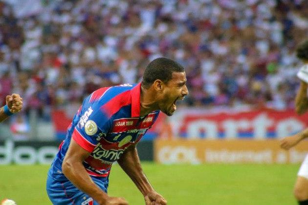 14º colocado – Fortaleza (38 pontos/34 jogos): 0.0% de chances de ser campeão; 0.0% de chances de Libertadores (G6); 14% de chances de rebaixamento.