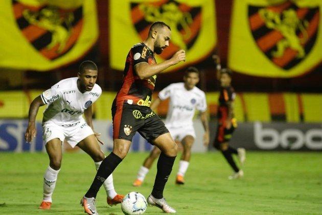14º colocado – Sport (32 pontos/29 jogos): 0% de chances de ser campeão; 0.010% de chances de Libertadores (G6); 21.9% de chances de rebaixamento.