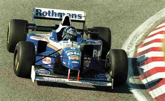 14 - Damon Hill, 20 poles, a última delas com o Williams FW18 no GP de Portugal de 1996