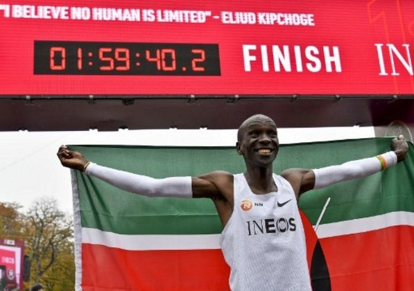 14) Eliud Kipchoge (Quênia) - Atletismo