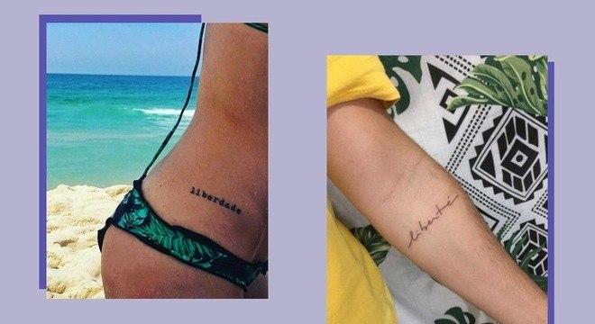 14 ideias de tatuagens que significam liberdade para você se inspirar