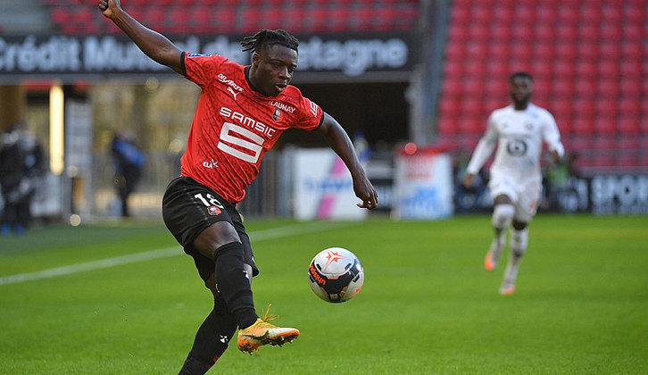 14º: Jérémy Doku - Rennes