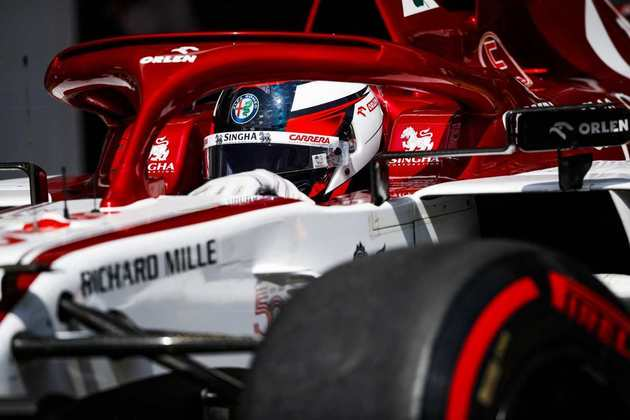 14) Kimi Räikkönen (Alfa Romeo), 1min17s386