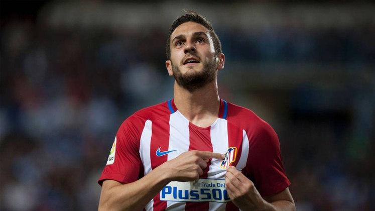 14º - Koke - Atlético de Madrid - Valor de mercado: € 60 milhões (R$ 383,44 milhões)