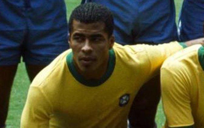14º lugar: Jairzinho - 101 partidas pela Seleção Brasileira