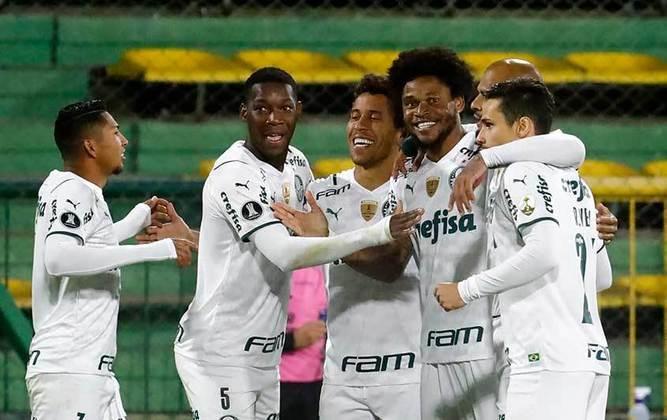 14º lugar - Palmeiras: R$ 51,6 milhões de dívidas fiscais em 2020 (variação de -12% com relação a 2019, quando a dívida foi de R$ 58,7 milhões)