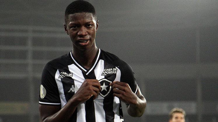 14º - Matheus Babi (Atacante) - 9 jogos. Foi vendido para o Athletico Paranaense