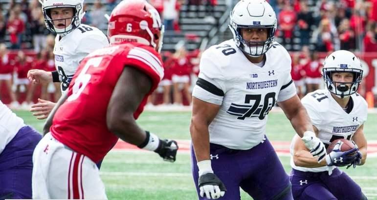 14 – Minnesota Vikings: Rashawn Slater (OT/IOL): Um início como guard na NFL é o cenário perfeito para o excelente atleta que jogou por Northwestern no College.