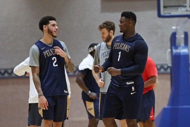 14- New Orleans Pelicans - A equipe evoluiu muito com a estreia do jovem Zion Williamson e chega em Orlando como o time do futuro. O problema é que Williamson deixou a