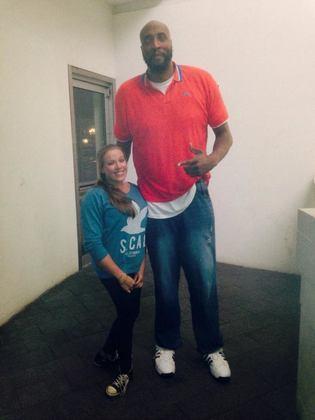 14- Priest Lauderdale (2,24 metros) - Entre 1996-97 e 1998-99, Priest Lauderdale passou pela NBA sem fazer muita coisa. Jogou no Atlanta Hawks e Denver Nuggets, atuando em 74 partidas no total. Suas médias foram de 3.4 pontos e 1.9 rebote