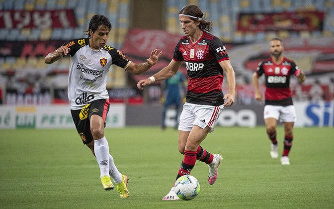 14ª rodada) Flamengo 3x0 Sport, no Maracanã, em 7 de outubro de 2020