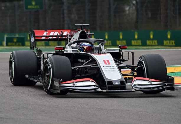 14º - Romain Grosjean (Haas) - 1.86: Nem a maluquice das voltas finais o fez sonhar com pontos